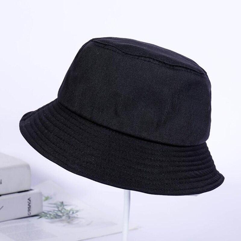 2019 새로운 평면 fishmen 모자 여름 빈티지 검은 양동이 모자 소년 남자 여자 힙합 낚시 모자 sprots chapeau 파나마 태양 모자