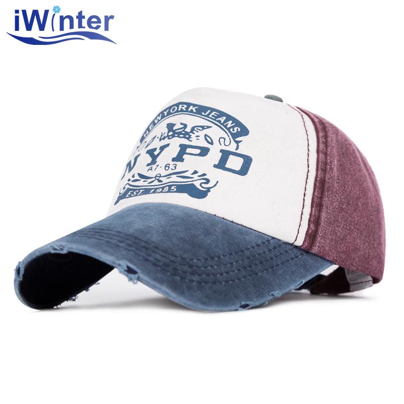 [해외]IWINTER 브랜드 캡 야구 모자 남성용 여성용 모자 캐주얼 스냅 백 모자 모자 힙합 모자 모자 골골 라스 캐스켓 유니섹시/IWINTER Brand Cap Baseball Cap For Men Women Fitted Hat Casual Snapback Cap