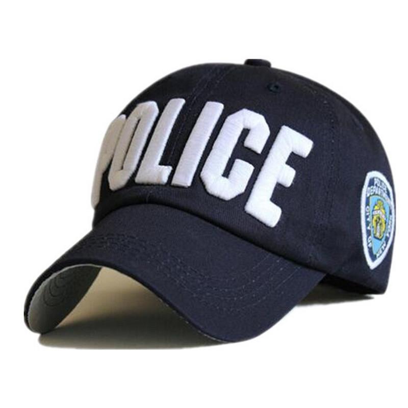 [해외]4 스타일 자수 & 경찰 & 레터 야구 모자 스냅인 백 모자 스냅인 다시 스냅인 카세트 드 조절할 수있는 여성/4 Style embroidery &POLICE&  Letter baseball cap snapback hats for men women