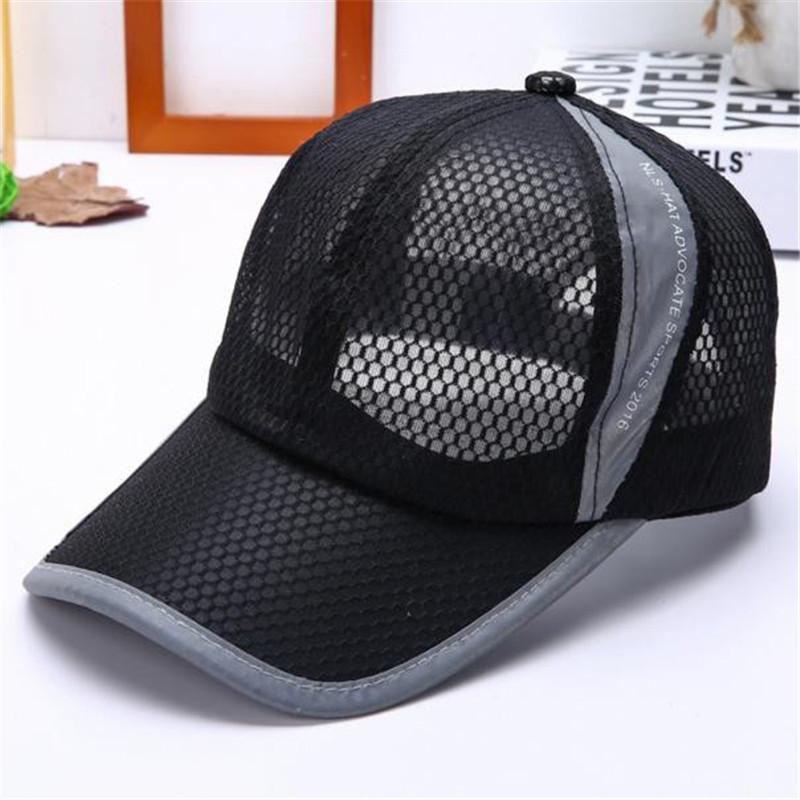 [해외]여름 통기성 메쉬 야구 모자 남자 여자 스포츠 모자 솔리드 UniCasual 여자 & 여아 스포츠 모자/Summer Breathable Mesh Baseball Cap Men Women Sport Hats Solid UniCasual Women&s Gir