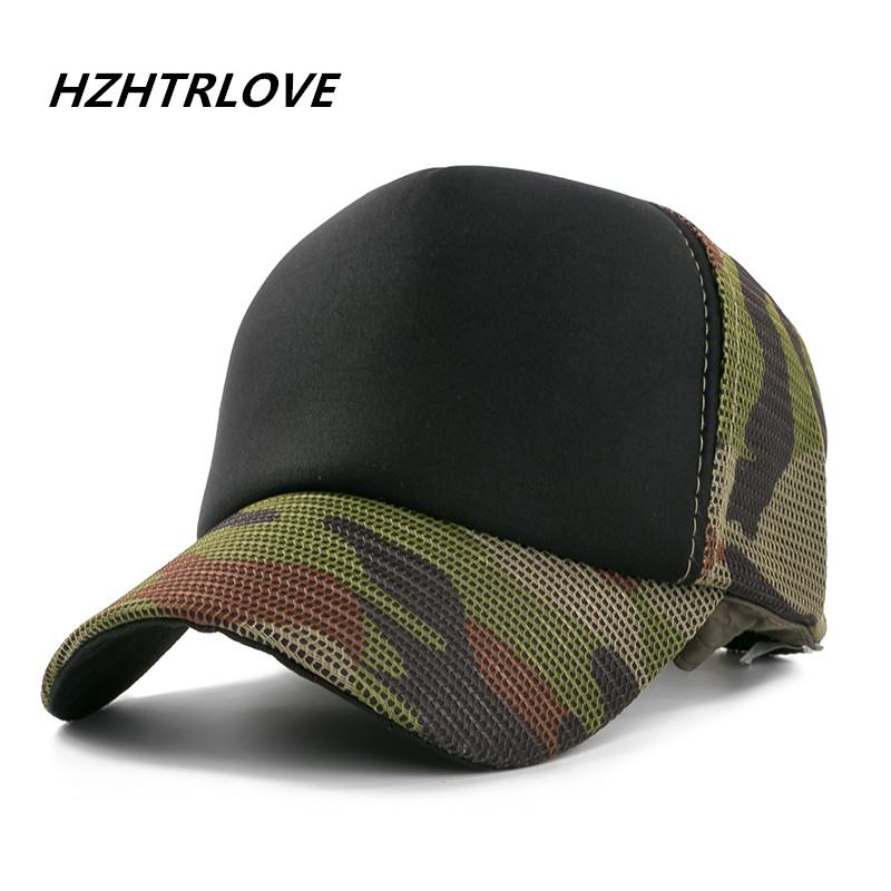 [해외]?코 튼 군대 야구 모자 남자를위장 메쉬 모자 모자 여자 합성 소재 모자 캐주얼 스포츠 아빠 모자/ Cotton Army Baseball Cap Camouflage Mesh Hat Cap For Men Women Composite Material Cap Casu