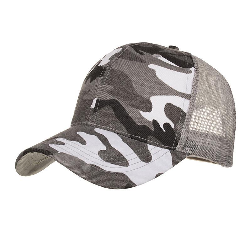 [해외]야구 모자 위장 여름 모자 메쉬 모자 남성용 여성 캐주얼 모자 힙합 야구 모자/Baseball cap Camouflage Summer Cap Mesh Hats For Men Women Casual Hats Hip Hop Baseball Caps