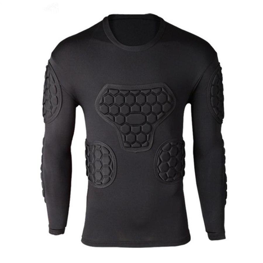 [해외]남자 럭비 축구 유니폼 골키퍼 Survetement 축구 저지 셔츠 골키퍼 팔꿈치 스포츠 키트 타이츠 허리 가슴 보호대/Men Rugby Soccer Jerseys Goalkeeper Survetement Football Jersey Shirts Goal Kee