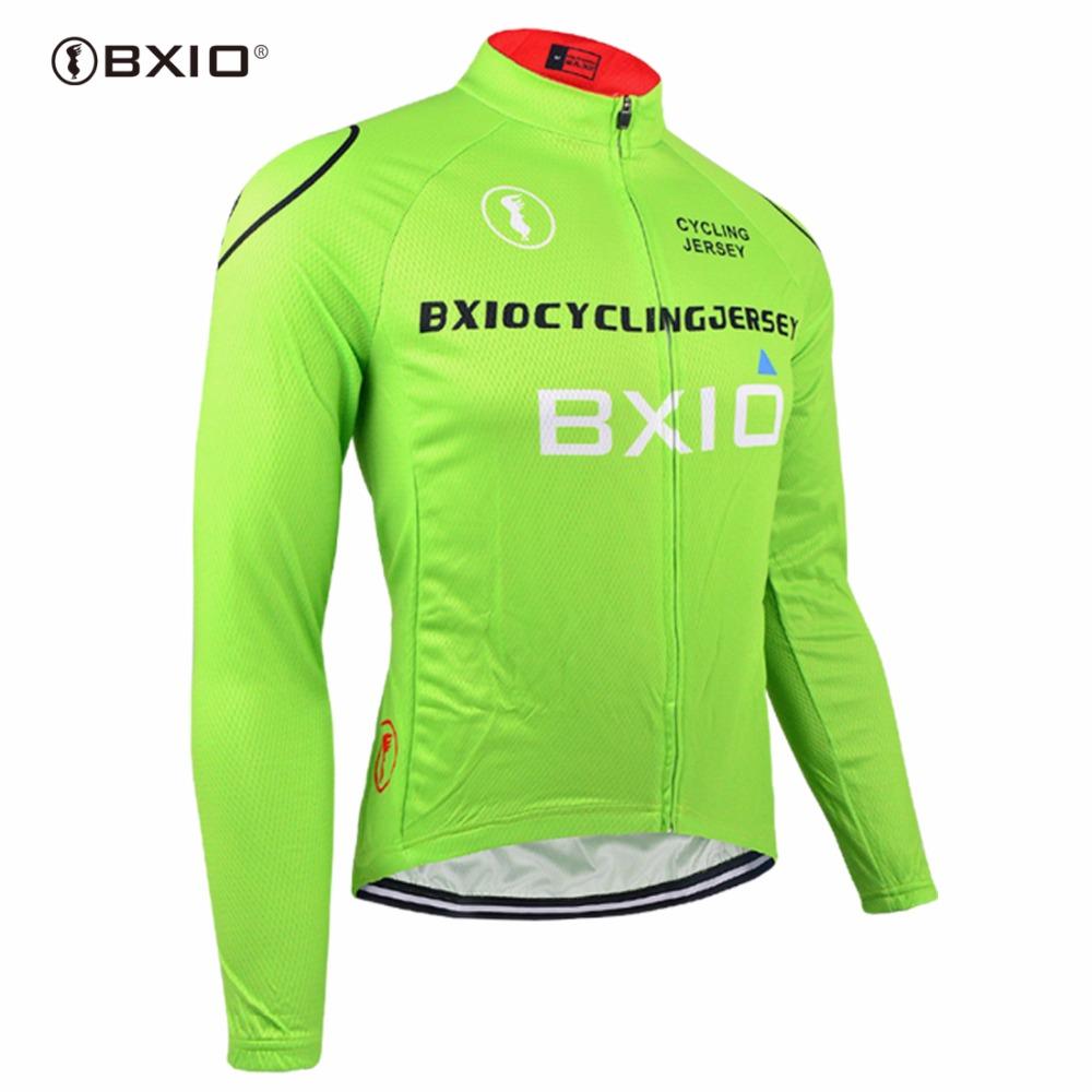 [해외]Bxio 겨울 열 양털 싸이클링 유니폼 프로 자전거 저지 따뜻한 긴 Retail 유일한 가을 자전거 의류 Maillot Ciclismo 011-J/Bxio Winter Thermal Fleece Cycling Jerseys Pro Bike Jersey Warm