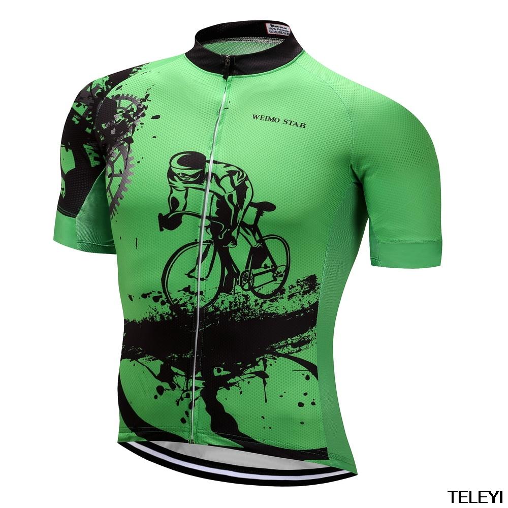 [해외]teleyi 2017 여름 남자 사이클링 유니폼 자전거 도로 자전거 MTB 사이클링 T- 셔츠 스포츠 사이클 의류 저지 Maillot Ropa Ciclismo/teleyi 2017 Summer Men Cycling Jerseys Bicycle Road Bike