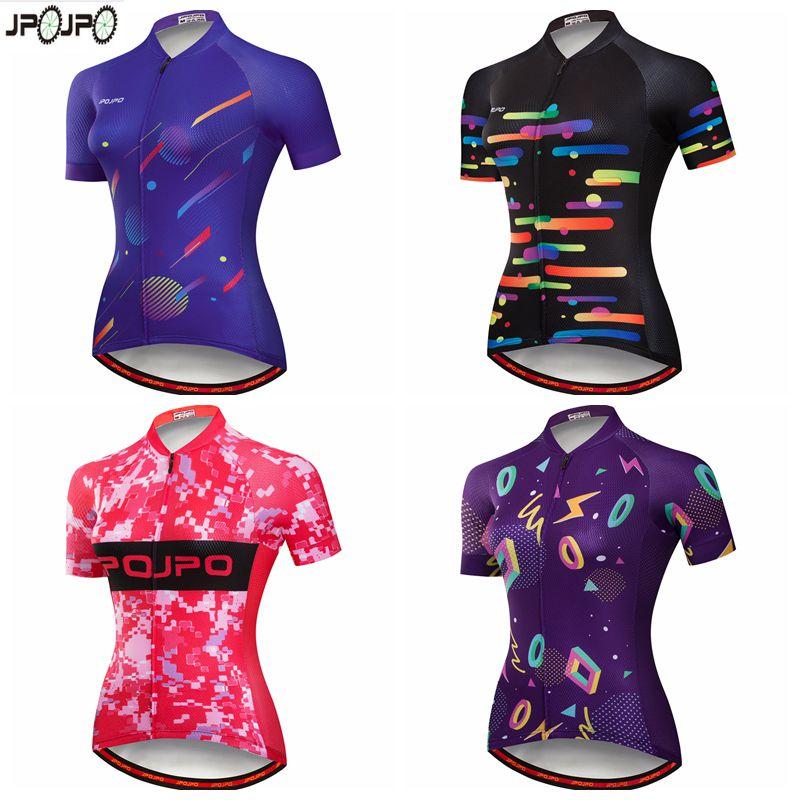 [해외]JPOJPO 여성 반팔 Anti-UV 사이클링 저지 Ropa Ciclismo MTB 자전거 저지 자전거 의류 Maillot 스포츠 사이클링 의류/JPOJPO Women Short Sleeve Anti-UV Cycling Jersey Ropa Ciclismo MT