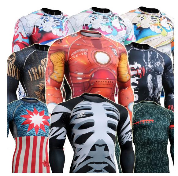 [해외]2016 슬림 맞는 축구 압축 중항는 긴 Retail 축구 유니폼을 승화 옷 CFL은 길어야/2016 slim fit football compression undershirts sublimation long sleeve football jerseys tops c