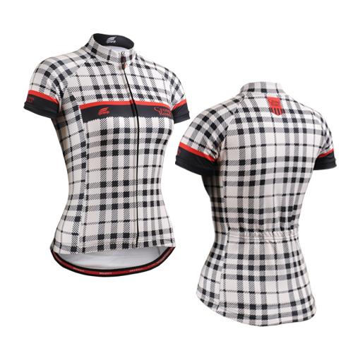 [해외]2016 New Womens Cycling Jersey 자전거 타기 라이더 셔츠 착용 영국 스포츠 소녀 라이더 셔츠 확인 행복한 여자/2016 New Womens Cycling Jersey Biking Clothing Rider Shirt Wear England