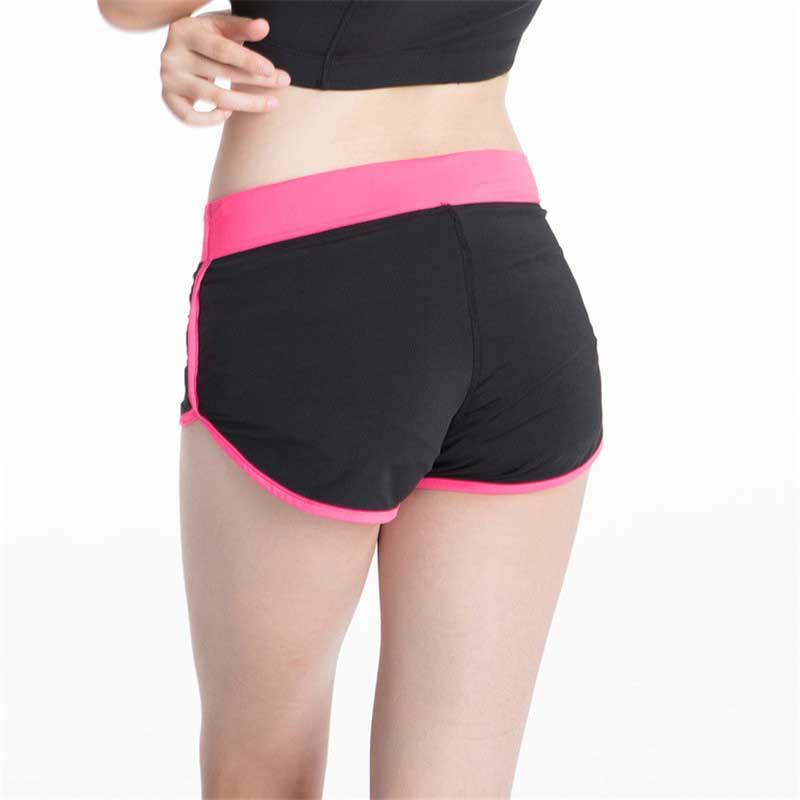 [해외]여자 프로 체육관 휘트니스 요가 압축 짧은 허리 훈련 운동 운동 스포츠 슬림 비치 보드 하이킹 2082 짧은/Women Pro Gym Fitness Yoga Short For Compress Running High Waist Training Exercise Wo
