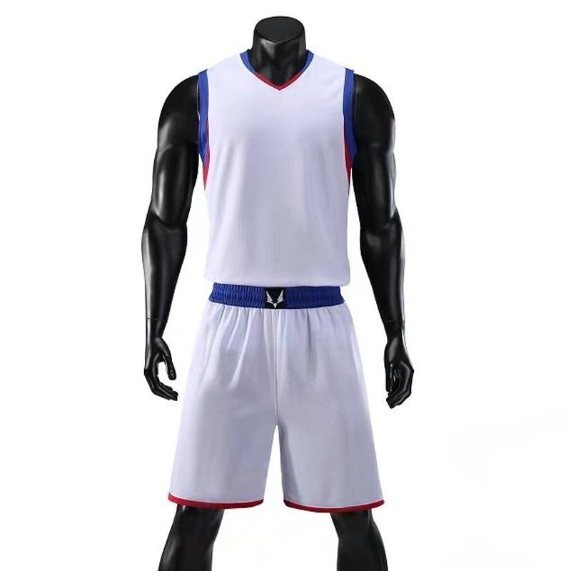 대학 throwback 농구 저지 셔츠와 반바지 농구 꿈 팀의 양식 농구 유니폼 훈련 유니폼 정장