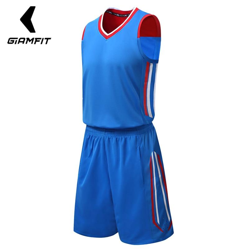 [해외]JIANFEI 2018 남자 농구 저지 세트 성인 스포츠 의류 대학 교육 복 폴리 에스테르 통기성 사용자 지정 디자인 / 로고/JIANFEI 2018 Men Basketball Jersey Sets Adult Sports Clothing College Train
