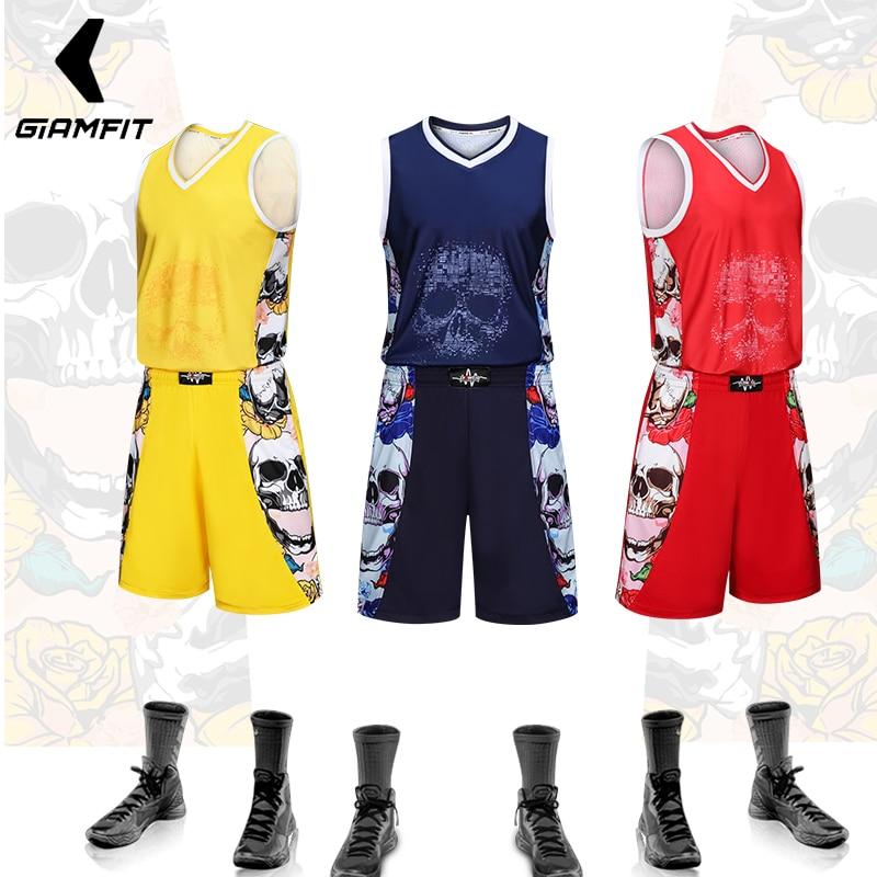 [해외]JIANFEI 남자 농구 저지 2018 성인 단편 대학 교육 통풍 세트 통기성이 부드러운 티셔츠 DIY 사용자 정의 번호 이름/JIANFEI Men Basketball Jersey 2018 Adult Shorts College Training Uniform Se