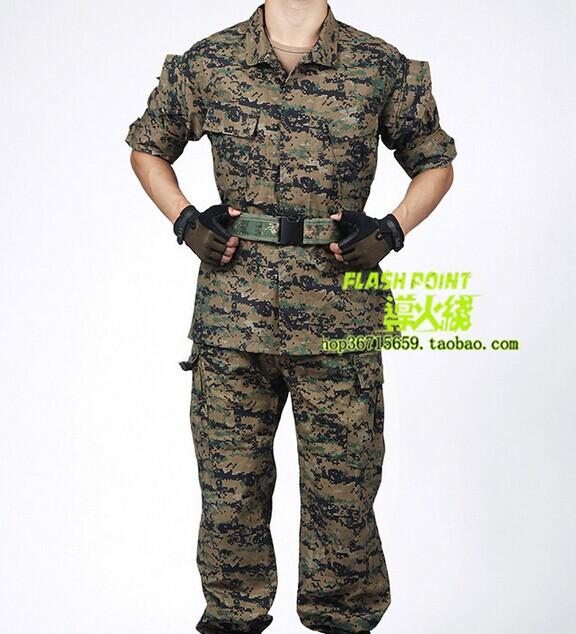 [해외]위장 정장 필드 훈련 유니폼 위장 정글 디지털 군복 재킷과 바지 전체 사진/Camouflage suits overalls field training uniform camouflage jungle digital military uniform jacket and p