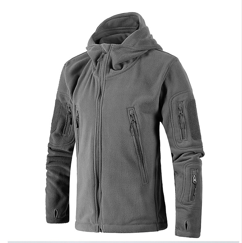 [해외]헌팅 모션 밀리터리 양털 웜 남자 전술 재킷 열전달 통풍 후드 남성 자켓 코트 겉옷/Hunting motion Military Fleece Warm Men Tactical Jacket Thermal Breathable Hooded men Jacket Coat O