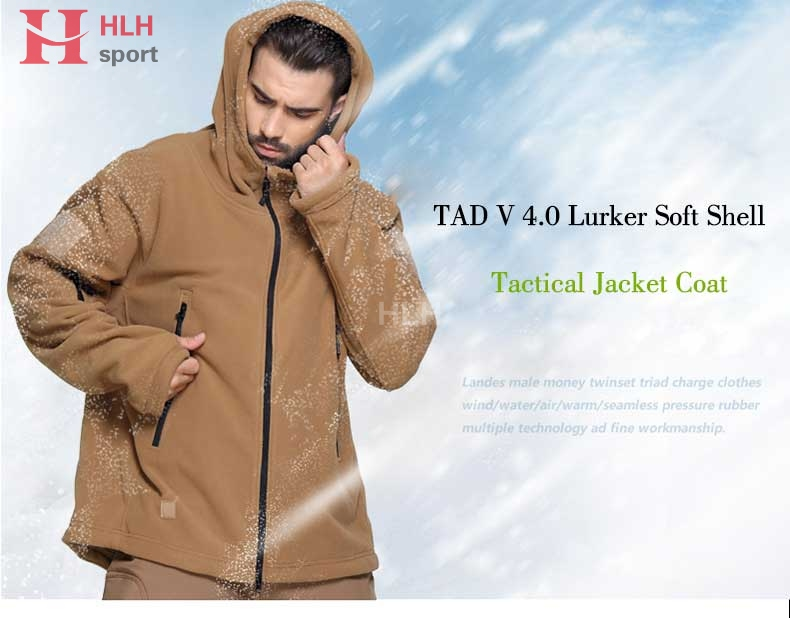 [해외]TAD V 4.0 Mens Tactical Jacket 소프트 쉘 야외 밀리터리 자켓 방수 윈드리셔 위장 코트 전술 의류/TAD V 4.0 Mens Tactical Jacket Soft Shell Outdoor Military Jackets Waterproof