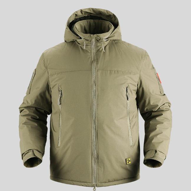 [해외]전술 워밍업 면화 패딩 밀리터리 자켓 남자 겨울 방수 육군 자 켓 슈퍼 열 휴대용 파 카 코트/Tactical Warm Down Cotton Padded Military Jacket Men Winter Waterproof Army Jacket Super Ther
