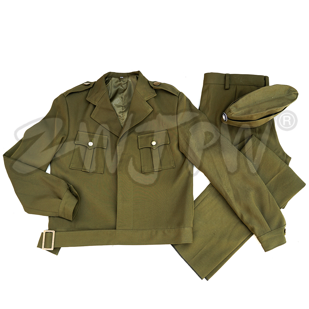 [해외]WW2  KMT 여성 유니폼 미국 스타일 정장 육군 녹색/WW2 CHINA KMT WOMEN UNIFORM AMERICAN STYLE SUIT  ARMY GREEN