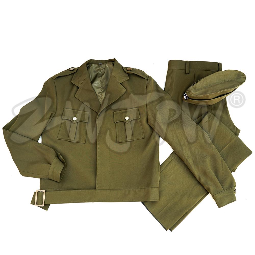 [해외]WW2  KMT 여성 유니폼 미국 스타일 정장 육군 녹색/WW2 CHINA KMT WOMEN UNIFORM AMERICAN STYLE SUIT  ARMY GREEN