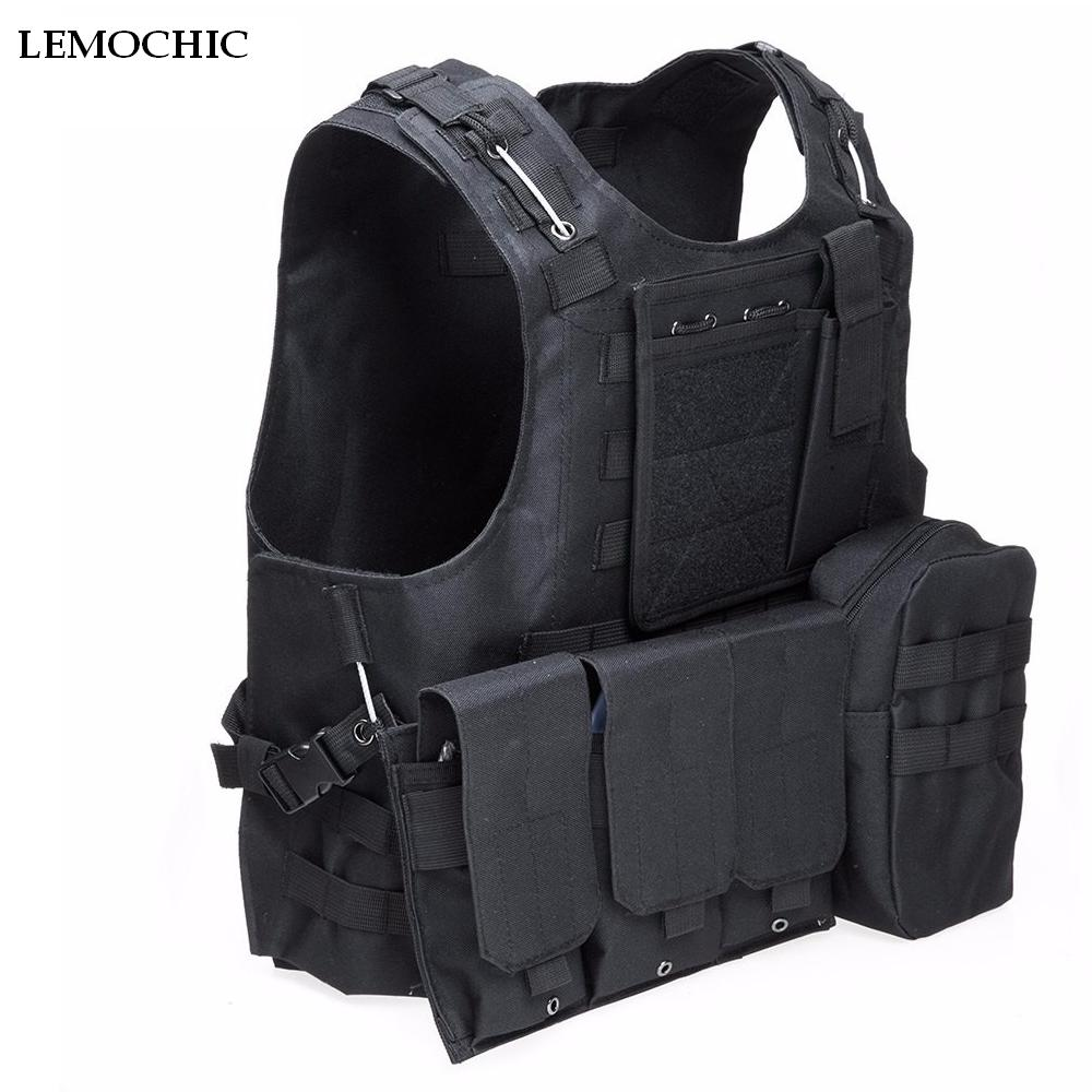 [해외]LEMOCHICTactical Paintball Wargame 장비 육군 사냥 Molle Airsoft 군 조끼 옥외 몸 기갑 전투 검사 특별 조끼/LEMOCHICTactical Paintball Wargame Equipment Army Hunting Molle