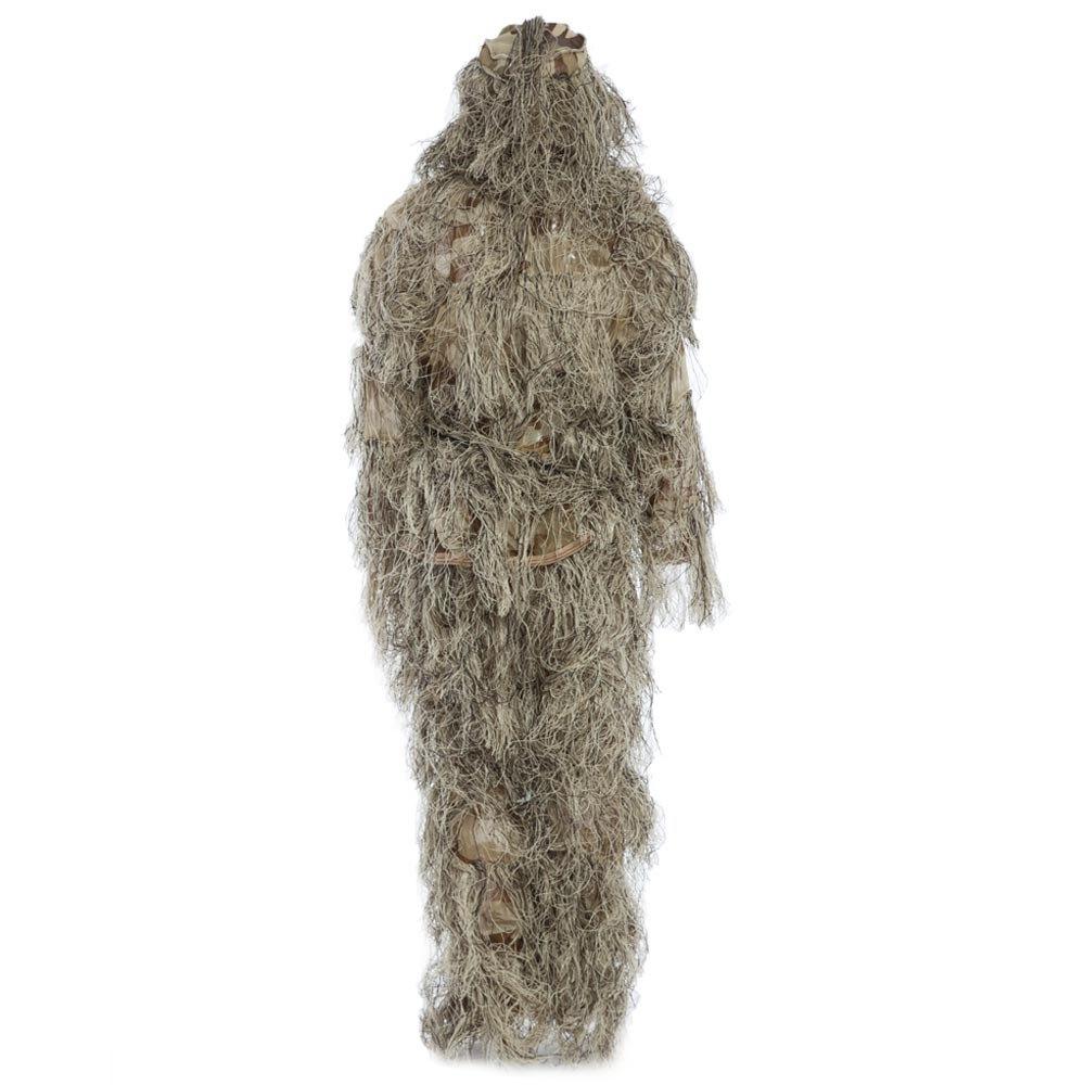 [해외]Ghillie 정장 CS 위장 복장 세트 3D Bionic Leaf Hunting 변장 유니폼 저격수 정글 밀리터리 열차 사냥 의류/Ghillie Suit CS Camouflage Suits Set 3D Bionic Leaf Hunting Disguise Uni