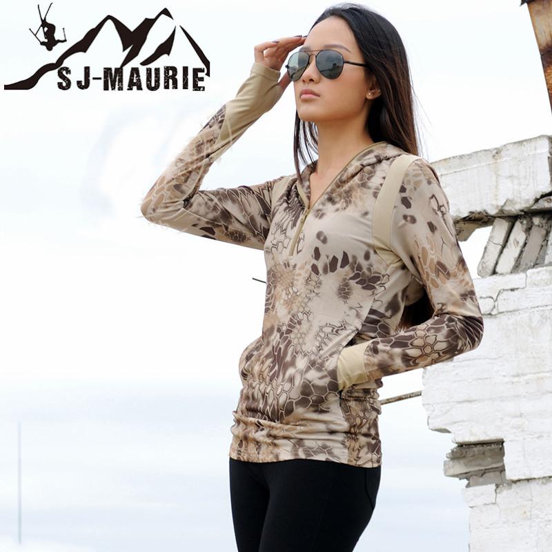 [해외]위장 사냥 의류 야외 스포츠 빠른 건조 후드 티셔츠 밀리터리 전술 택시 하이랜더 Airsoft 셔츠 긴 Retail/Camouflage Hunting Clothes Outdoor Sports Quick Dry Hooded T-shirt Military Tacti