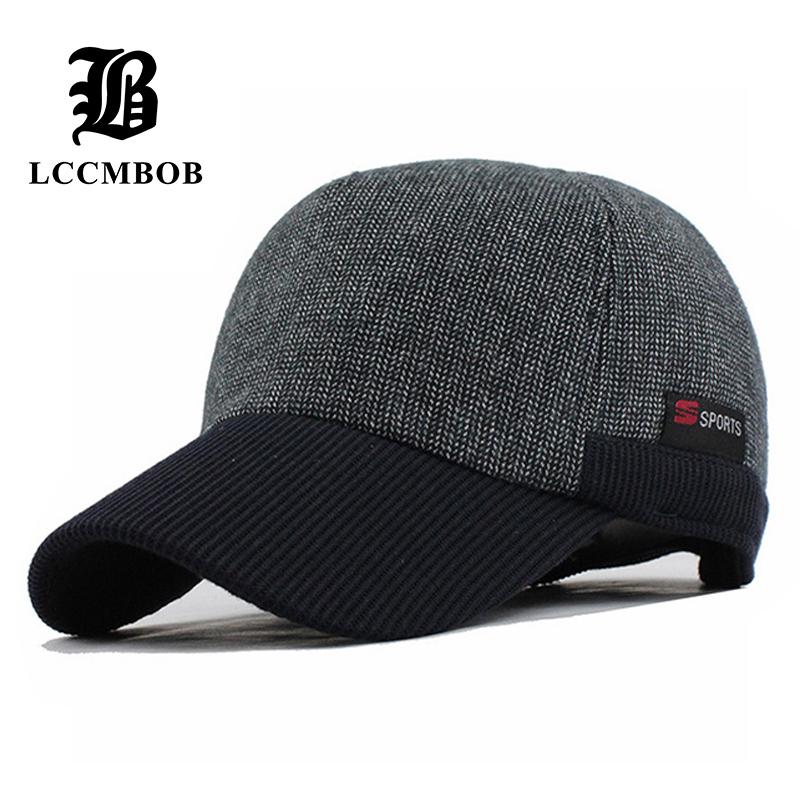 [해외]따뜻한 겨울 짙은 야구 모자 귀걸이 남성 모자 여성용 S 코튼 모자 브랜드 Snapback 겨울 모자 귀에 플랩/Warm Winter Thickened Baseball CapEars Men&S Cotton Hat Brand Snapback Winter Hats
