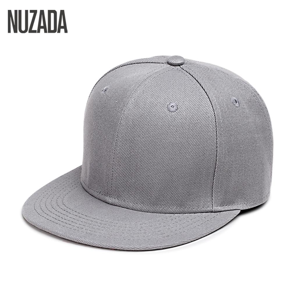 [해외]브랜드 NUZADA 힙합 모자 남자 여자 야구 모자 Snapback 10 단색 코튼 뼈 유럽 스타일 클래식 패션 트렌드/Brand NUZADA Hip Hop Hats Men Women Baseball Caps Snapback 10 Solid Colors Cott
