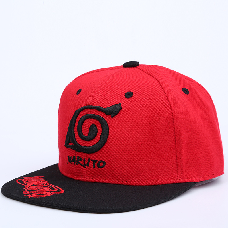 [해외]새로운 UniAnime 연인 나루토 야외 Snapback 모자 자수 Snapback 패션 우드 남성 & 여성 모자/New UniAnime Lovers Naruto Outdoor Snapback Cap Embroidery Snapback Fashion Wo