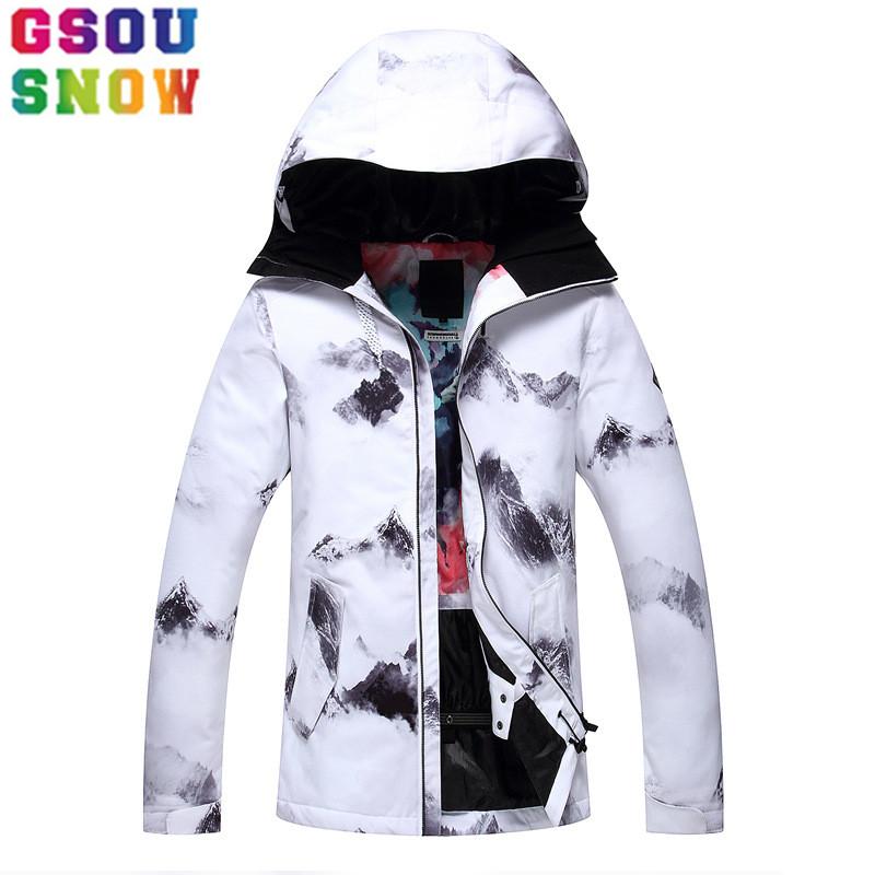 [해외]GSOU SNOW 방수 스키 자켓 여성 스노우 보드 자켓 겨울 저렴한 스키 복 야외 스키 스노우 보드 캠핑 스포츠 의류/GSOU SNOW Waterproof Ski Jacket Women Snowboard Jacket Winter Cheap Ski Suit Ou