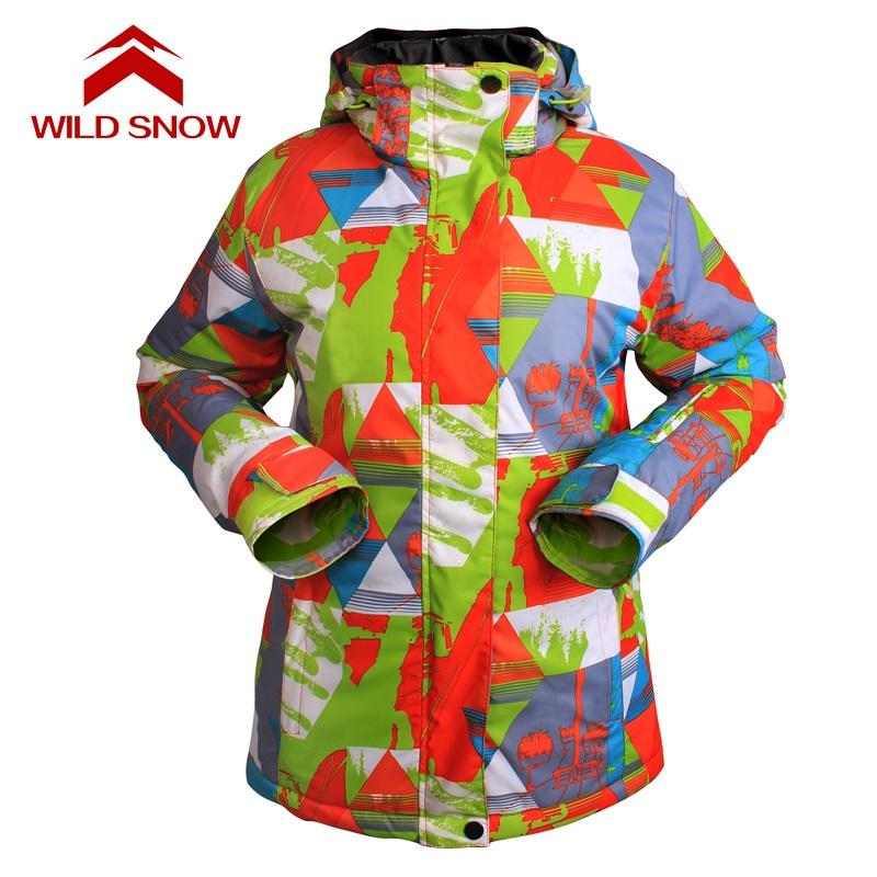 [해외]2017 New WILD SNOW 브랜드 스노우 보드 자켓 겨울 마운틴 스키 방수 스노우 보드 재킷/2017 New WILD SNOW Brand women snowboard jackets Winter Mountain Skiing Clothes waterproof
