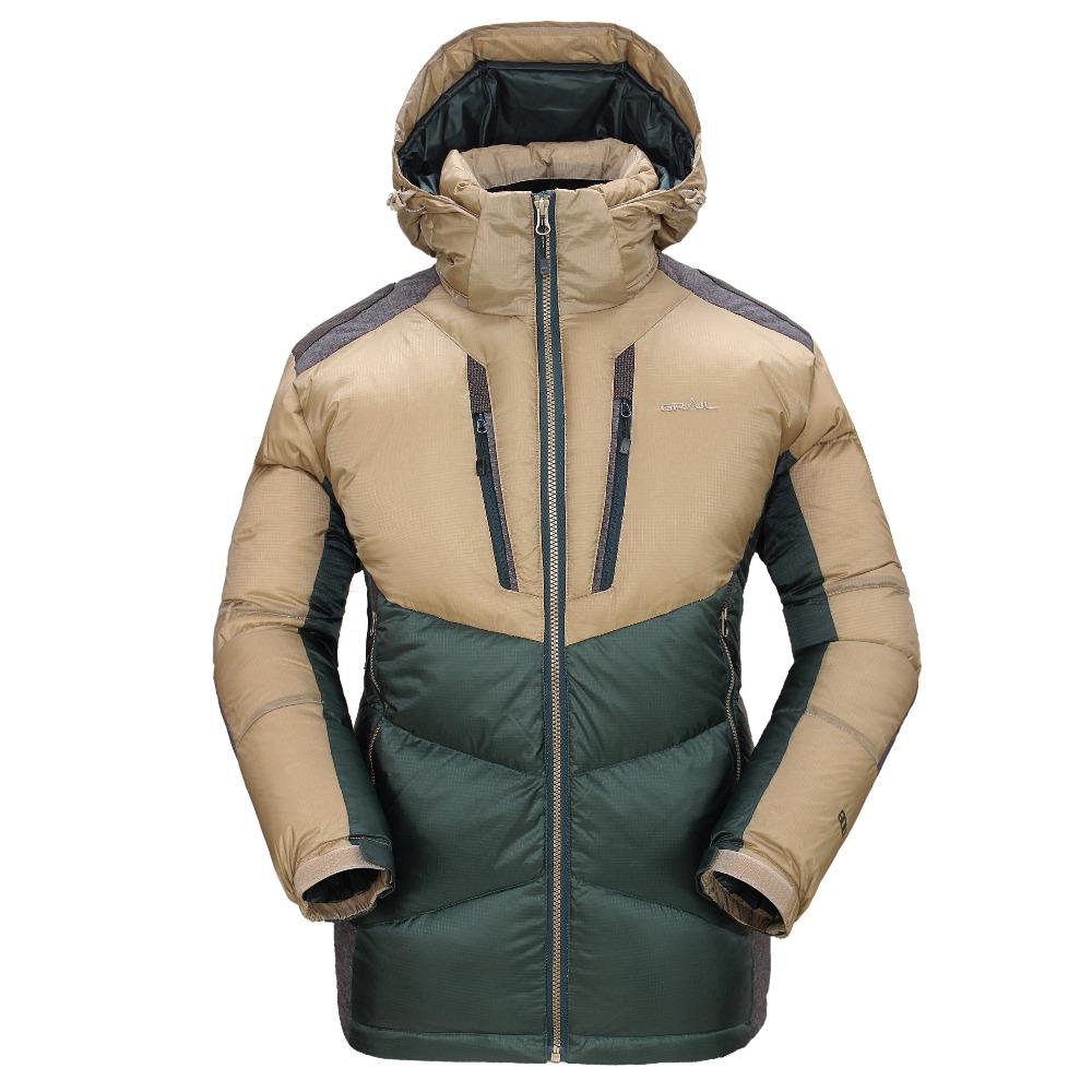 [해외]GRAIL 야외 헤비 다운 자켓 스키 정장 남성 및 겨울 스포츠 마운틴 재킷 방풍 물 Reppellency 통풍 6523A/GRAIL Outdoor Heavy Down Jacket Ski Suit for Men&s Winter Sports Mountain Jac