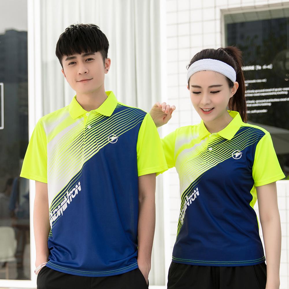 [해외]무료 인쇄 새로운 빠른 건조 배드민턴 스포츠 셔츠, 테니스 셔츠 남성 / 여성, 테니스 티셔츠, 배드민턴 탁구 유니폼 A115/Free Print New Quick dry Badminton sports shirt, Tennis  shirt Male/Female