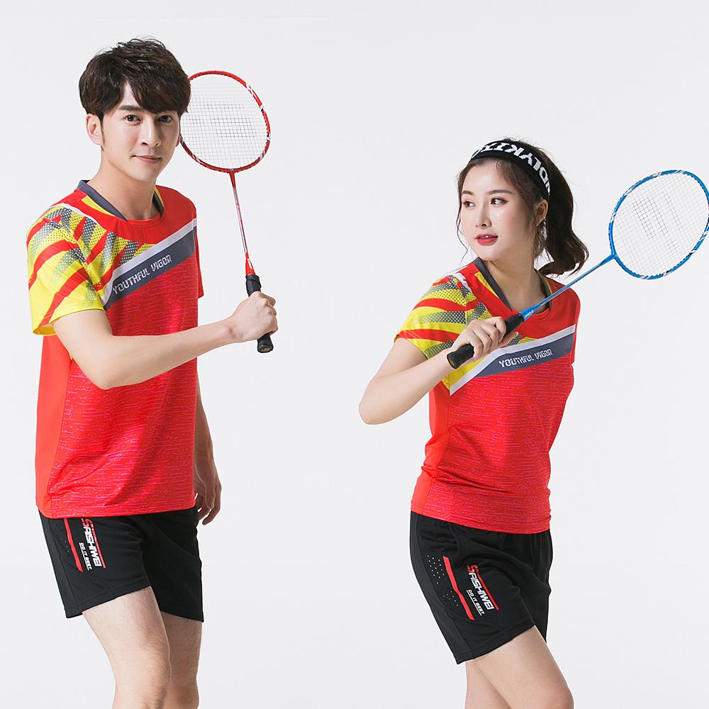 [해외]무료 인쇄 Qucik 건조 배드민턴 스포츠 의류 여성 / 남성, 테니스 슈트, 탁구 의류, 테니스 세트, 배드민턴 착용 세트 3880/Free print Qucik dry Badminton sports clothes Women/Men,Tennis suit , t