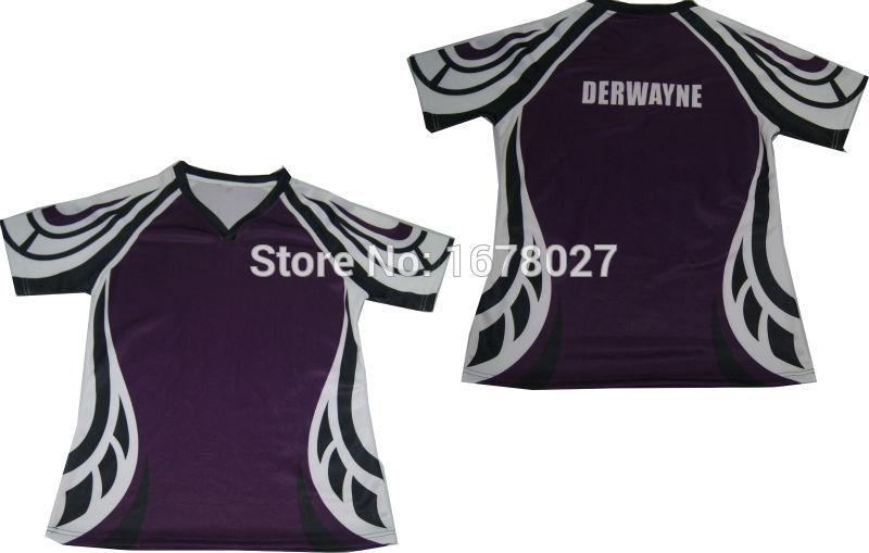 [해외]?블랙 닷 Kids Size O neck 럭비 입고 Reglan 반팔/ Black Dot Kids Size O neck Rugby Wears Reglan Short Sleeves