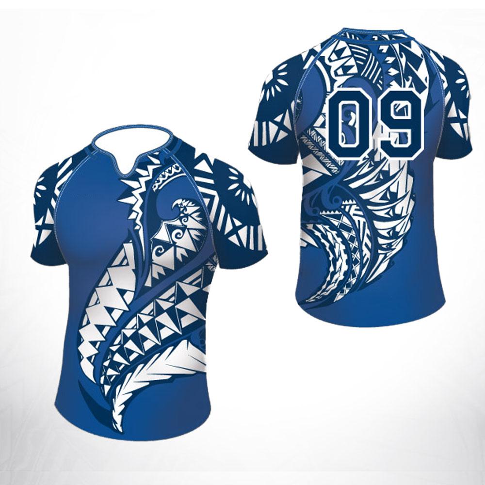 [해외]2017 사용자 정의 디자인 승화 100 % 폴리 에스터 드라이 피트 럭비 저지 교육 경기 럭비 팀 착용 유니폼/2017 Custom Design Sublimation 100% Polyester Dry Fit Rugby Jersey Wholesale Traini