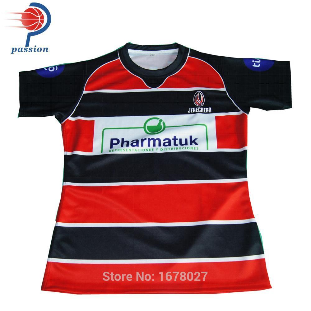 [해외]싸구려 일반 빈 반팔 연습 럭비 셔츠 유니폼에 대한/Cheap Plain Blank Short Sleeve Practice Rugby Shirts Jerseys for