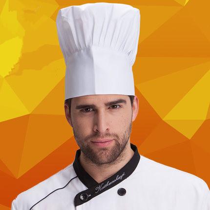 [해외]2015 고품질 요리사 모자 호텔 유니폼은 흰색 크기 조정 모자를 작업 균일 한 요리사가 요리를 균일 한 레스토랑 모자 요리사/2015  High quality chef Hat hotel uniform chef uniform restaurant Hat cook