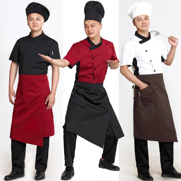 [해외]2018 년 여름 면화 앞치마 카페 프렌치 웨이터 앞치마 앞치마 앞치마 앞치마 앞치마 1 개 포켓 홈 앞치마/2018 summer cotton apron cafe cake shop for men and women waiter chef apron half fron