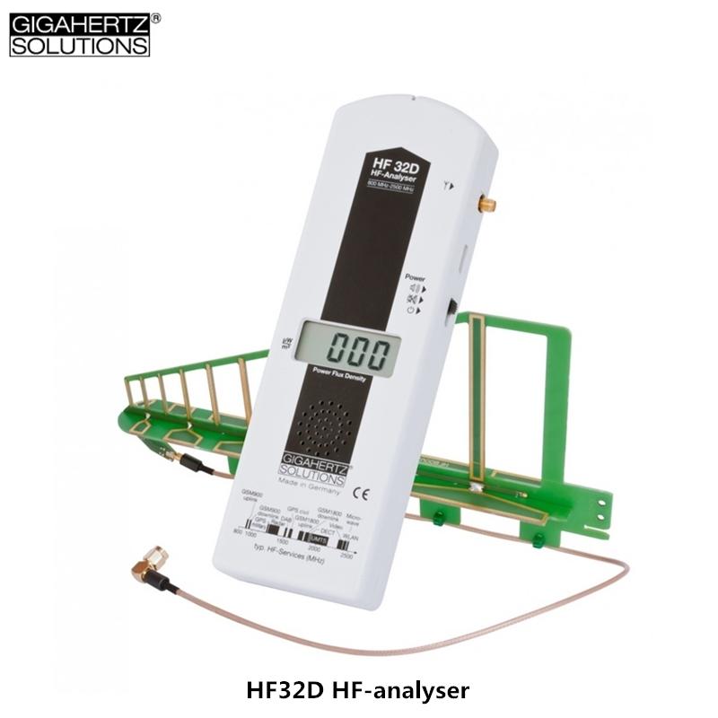 [해외]독일 GIGAHERTZ HF32D 고주파 전자기 방사선 검출기 Wi-Fi 전자기 방사선 측정기/Germany GIGAHERTZ HF32D High-frequency electromagnetic radiation detector Wi-Fi electromagnet