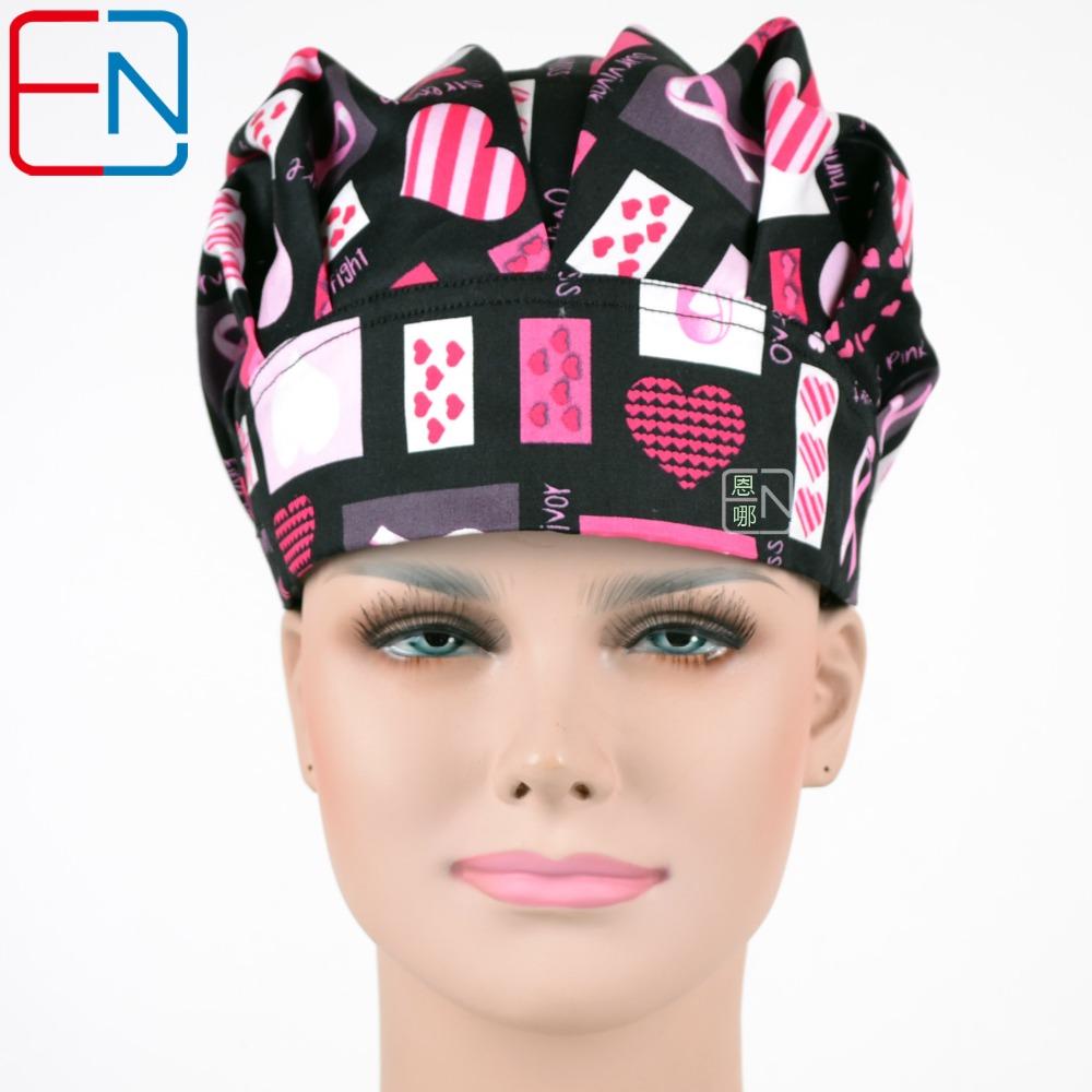 [해외]Hennar 여성 외과 수술 용 bouffant 모자 / 모자 검정/Hennar women surgical scrub bouffant caps/hats in black