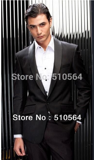 [해외]도매  행사 저녁 파티 들러리 신랑 턱시도 사용자 정의 만든 남성 정장 (재킷 + 바지)/Wholesale Free shipping Ceremony Evening Party Groomsman Bridegroom Tuxedos custom made men Suit