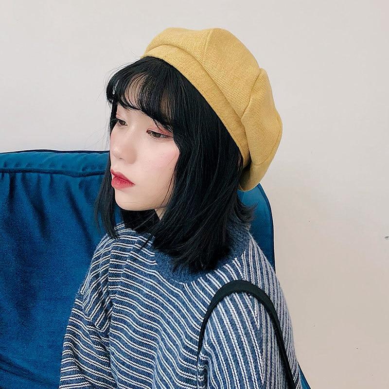 韩国女明星都有在戴的Beret帽~可爱又诱人的帽子款式!妳又怎么能没有它呢!