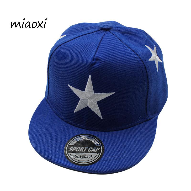 [해외]miaoxi 패션 어린이 보이 모자 야구 여자 여름 스타 모자 태양 어린이 힙합 모자 Snapback Gorras Bone/miaoxi Fashion Children Boy Cap Baseball Girls Summer Star Hats Sun Children