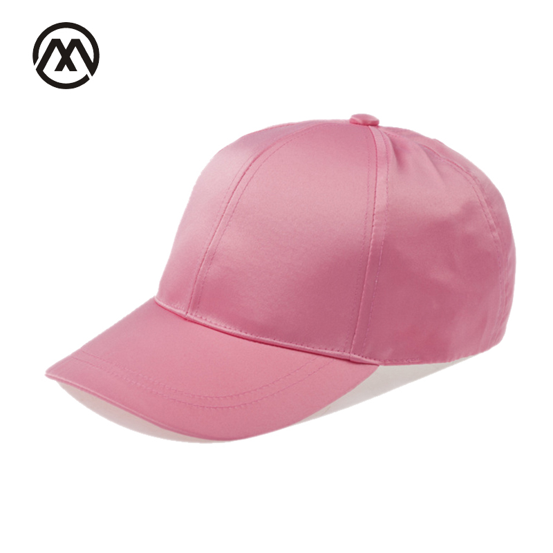 [해외]실크 숙녀 야구 모자 여름 가을 여성 새틴 모자 소녀 & s 단색 조정 모자 Gorras Snapback men hat/silk ladies baseball cap summer autumn woman Satin hat girl&s Solid Color A