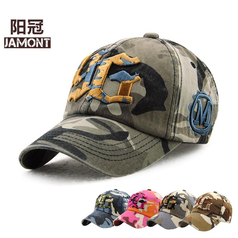 [해외][JAMONT] 브랜드 패션 조정 가능한 코튼 스냅 백 모자 위장 편지 Sunhat Gorras 힙합 남자 여자 야구 모자 야외/[JAMONT] Brand Fashion Adjustable Cotton Snapback Hat Camouflage Letter Su