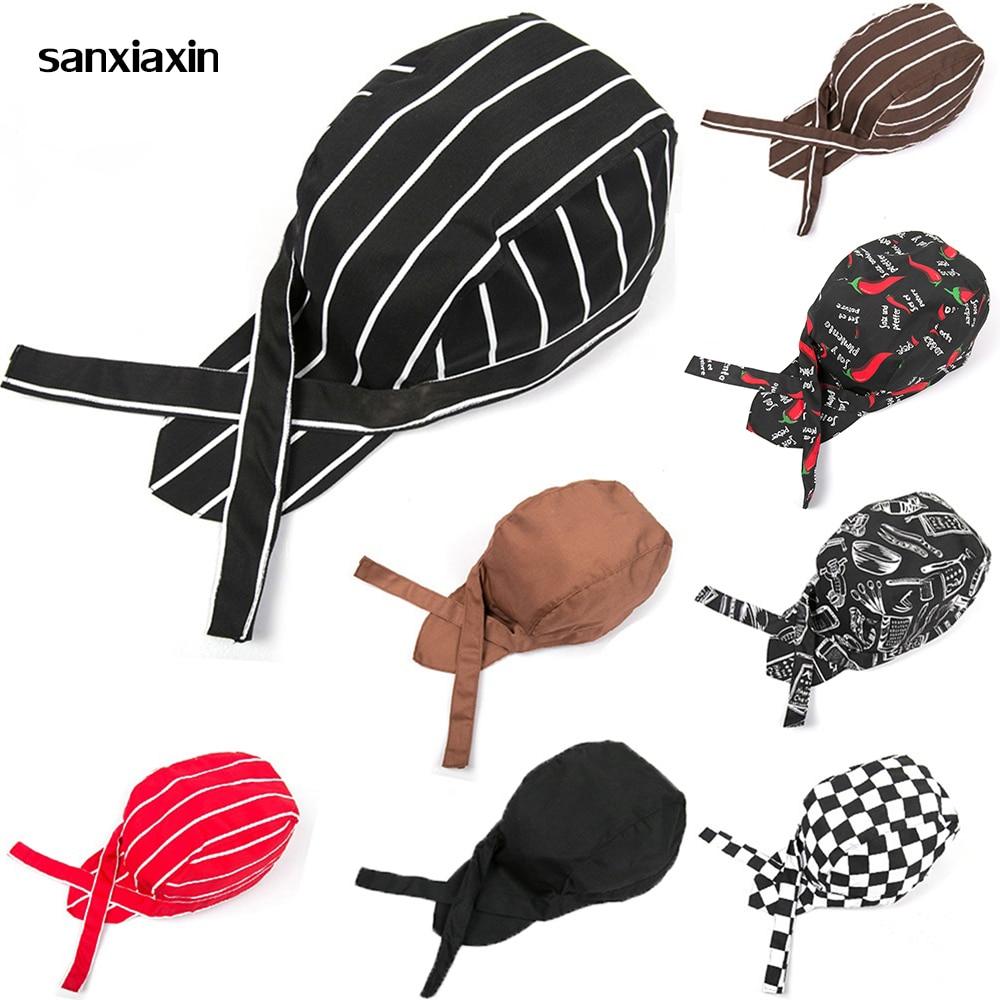 [해외]sanxiaxin 12 Colors new Chef Caps Cafe Bar Waiter Beret Restaurant Hotel Workwear Cook Baking Cap Men Women Breathable chefs hat/sanxiaxin 12 Colo