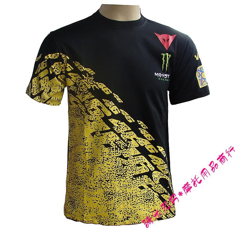 [해외]로시 (4??6) 자동차 경주 티셔츠 오토바이 T 셔츠 남성 짧은 Retail 티셔츠/Rossi 46 automobile race t-shirt motorcycle t-shirt male short-sleeve t-shirt