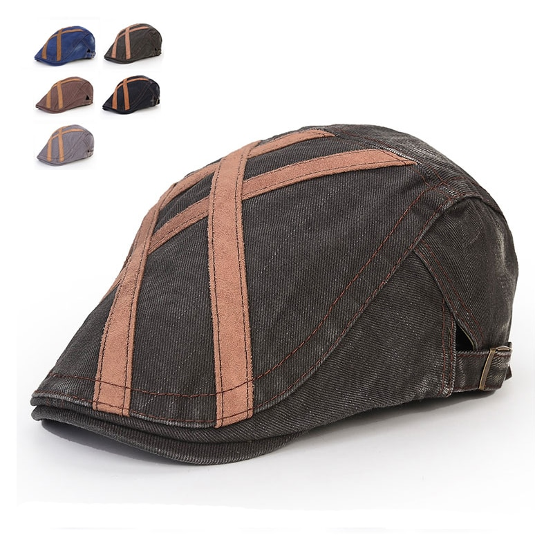 3f266481 [해외]2016 New Cotton Beret Hats UniSpring Autumn Flat Caps Men Women Vintage  Casquette