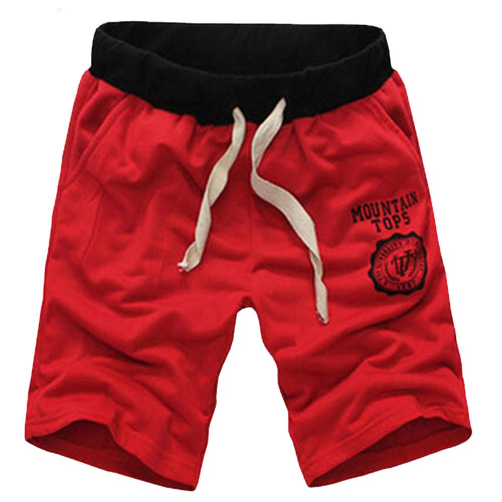 [해외]TFGS 남성 면화 캐주얼 문자 무릎 길이 반바지 남자 브랜드 새로운 2016 여름 패션 플러스 크기 9 색 의류/TFGS Male cotton casual letter knee length shorts men brand new 2016 summer fashio