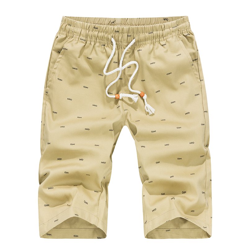 [해외]물고기 뼈 패턴 당겨 로프 반바지 남자 & s, 대형 5XL 망 코튼 반바지, 2018 여름 캐주얼 남자 무릎 길이 반바지/Fish Bone Pattern Pull Rope Shorts Men&s, Large Size 5XL Mens Cotton Shor